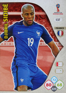 WORLD CUP RUSSIA 2018 TEAM MATE FRANCJA SIDIBE 137