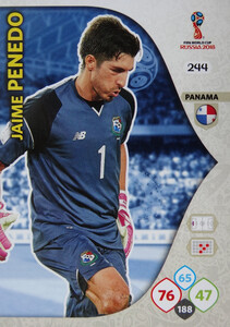 WORLD CUP RUSSIA 2018 TEAM MATE PANAMA PENEDO 244