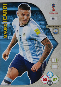 WORLD CUP RUSSIA 2018 ARGENTYNA TEAM ICARDI 18