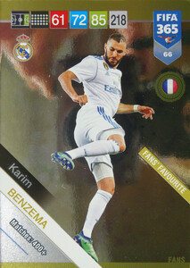 2019 FIFA 365 FANS FAVOURITE  BENZEMA 66