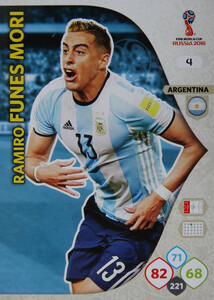 WORLD CUP RUSSIA 2018 ARGENTYNA TEAM FUNES MORI 4