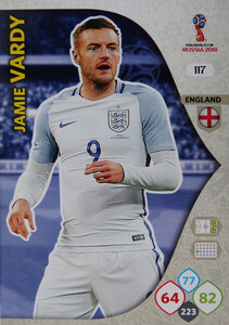 WORLD CUP RUSSIA 2018 ANGLIA TEAM MATE VARDY 117