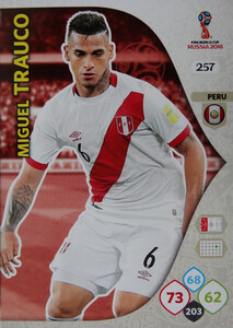WORLD CUP RUSSIA 2018 TEAM MATE PERU TRAUCO 257
