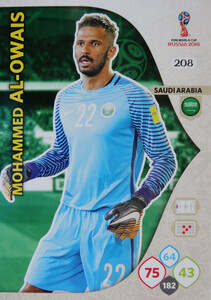 WORLD CUP RUSSIA 2018 TEAM MATE ARABIA SAUDYJSKA AL-OWAIS 208