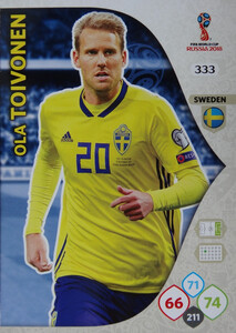 WORLD CUP RUSSIA 2018 TEAM MATE SZWECJA TOIVONEN 333