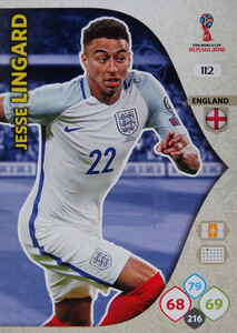 WORLD CUP RUSSIA 2018 ANGLIA TEAM MATE LINGARD 112