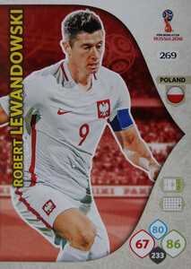 WORLD CUP RUSSIA 2018 TEAM MATE POLSKA LEWANDOWSKI 269