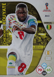 WORLD CUP RUSSIA 2018 TEAM MATE SENEGAL KOUYATE 303