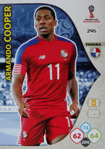 WORLD CUP RUSSIA 2018 TEAM MATE PANAMA COOPER 246