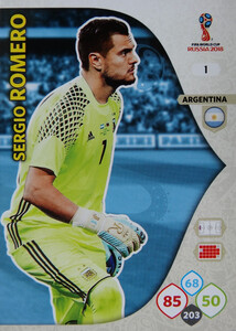 WORLD CUP RUSSIA 2018 ARGENTYNA TEAM MATE ROMERO 1