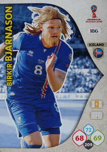 WORLD CUP RUSSIA 2018 TEAM MATE ISLANDIA BJARNASON 186