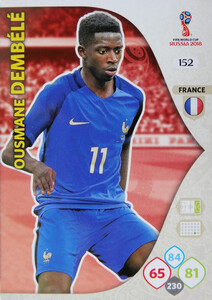 WORLD CUP RUSSIA 2018 TEAM MATE FRANCJA DEMBELE 152