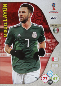 WORLD CUP RUSSIA 2018 TEAM MATE  MEKSYK LAYUN 229