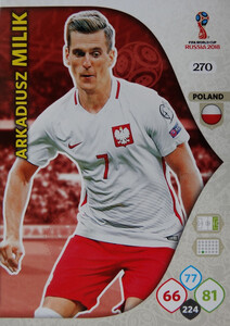 WORLD CUP RUSSIA 2018 TEAM MATE POLSKA MILIK 270