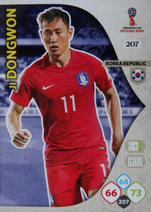 WORLD CUP RUSSIA 2018 TEAM MATE  KOREA JI DONGWON 207