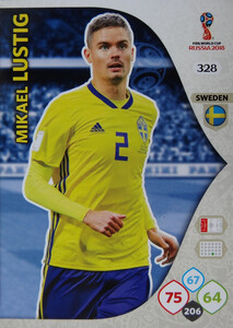 WORLD CUP RUSSIA 2018 TEAM MATE SZWECJA LUSTIG 328