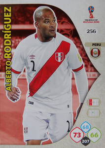 WORLD CUP RUSSIA 2018 TEAM MATE PERU RODRIGUEZ 256