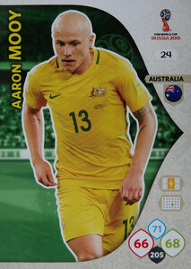 WORLD CUP RUSSIA 2018 AUSTRALIA TEAM MOOY 24