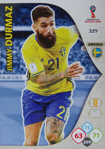 WORLD CUP RUSSIA 2018 TEAM MATE SZWECJA DURMAZ 329