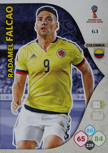 WORLD CUP RUSSIA 2018 KOLUMBIA TEAM FALCAO 63