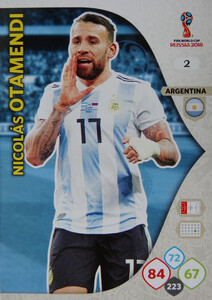 WORLD CUP RUSSIA 2018 ARGENTYNA TEAM OTAMENDI 2