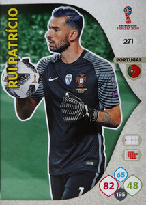 WORLD CUP RUSSIA 2018 TEAM MATE PORTUGALIA PATRICIO 271