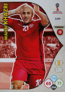 WORLD CUP RUSSIA 2018 TEAM MATE TUNEZJA KHAZRI 339