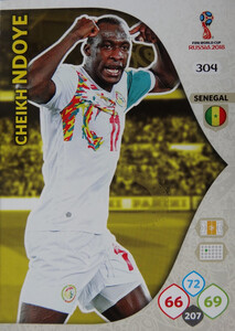 WORLD CUP RUSSIA 2018 TEAM MATE SENEGAL NDOYE 304