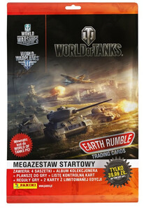 WORLD OF TANKS EARTH RUMBLE  MEGA ZESTAW STARTOWY