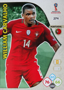 WORLD CUP RUSSIA 2018 TEAM MATE PORTUGALIA CARVALHO 274