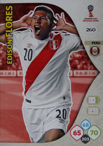 WORLD CUP RUSSIA 2018 TEAM MATE PERU FLORES 260