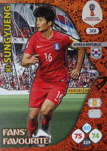 WORLD CUP RUSSIA 2018 FANS FAVOURITE SUNGYUENG 381