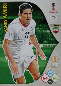 WORLD CUP RUSSIA 2018 TEAM MATE IRAN AMIRI 176