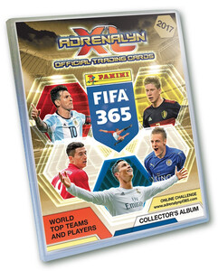 FIFA 365 2017 Panini Adrenalyn XL - ALBUM