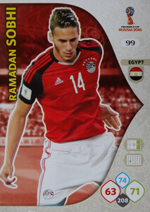 WORLD CUP RUSSIA 2018 EGIPT TEAM MATE SOBHI 99