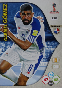 WORLD CUP RUSSIA 2018 TEAM MATE PANAMA GOMEZ 250