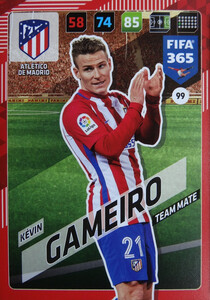 2018 FIFA 365 TEAM MATE Kévin Gameiro #99