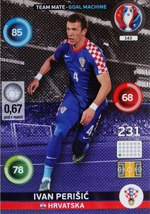 EURO 2016 TEAM MATE / GOAL MACHINE Ivan Perišić #143