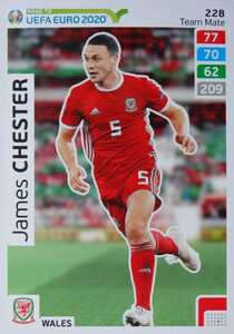 ROAD TO EURO 2020 TEAM MATE James Chester 228