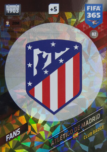 2018 FIFA 365 FANS LOGO Club Badge #82