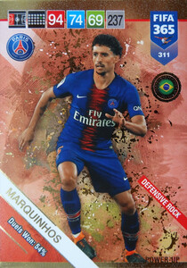 2019 FIFA 365  DEFENSIVE ROCK MARQUINHOS 311