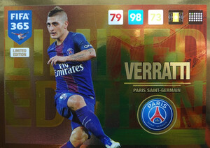 UPDATE 2017 FIFA 365 LIMITED VERRATTI