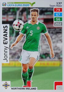 ROAD TO EURO 2020 TEAM MATE Jonny Evans 137
