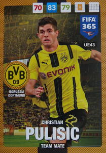 UPDATE 2017 FIFA 365 TEAM MATE CHRISTIAN PULISIC #43