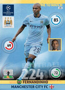 2014/15 CHAMPIONS LEAGUE® ONE TO WATCH   Fernandinho #178