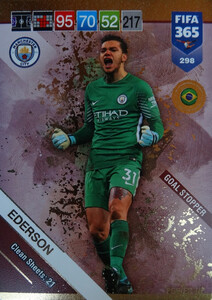 2019 FIFA 365 POWER UP GOAL STOPPER EDERSON 298