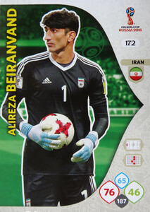 WORLD CUP RUSSIA 2018 TEAM MATE IRAN BEIRANVAND 172