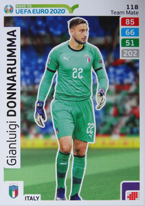 ROAD TO EURO 2020 TEAM MATE  Gianluigi Donnarumma 118