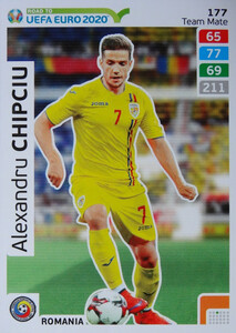 ROAD TO EURO 2020 TEAM MATE Alexandru Chipciu 177