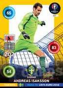ROAD TO EURO 2016 TEAM MATE Andreas Isaksson #217